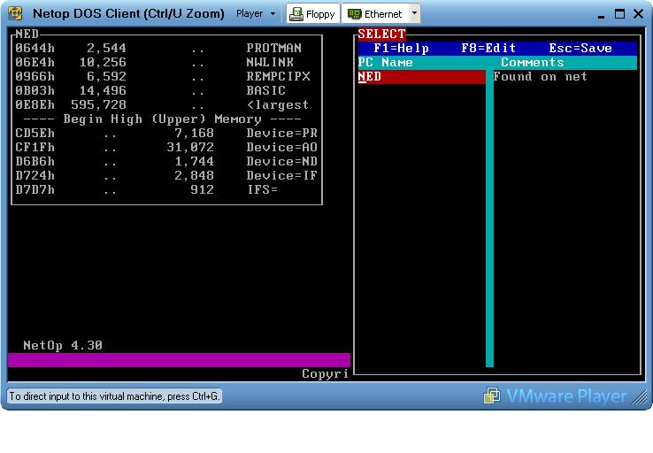 H & L Associates - DOS Remote Control